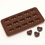 GGI International Silicone Heart Chocolate Mold