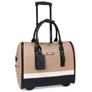 Cabrelli Sofia Classic Laptop Briefcase; Taupe/Multi