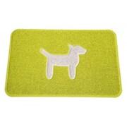 Smartcatcher Mat Dog Modern Mat; Lemon Lime