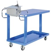 Vestil Easy Access Truck with Table and Storage Box