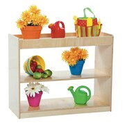 Wood Designs Two Shelf Open Divider