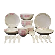 Auratic Chun Ping 26 Piece Dinnerware Set