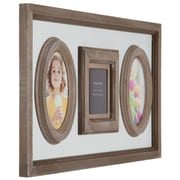 NielsenBainbridge Burnes of Boston 3 Opening Heartfelt Distressed Collage Picture Frame