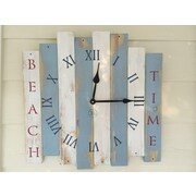 essex hand crafted wood products Beach Time Clock