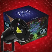 Wintergreen Lighting Static Laser Projector; Red