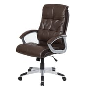 Merax High-Back Executive Office Chair; Brown