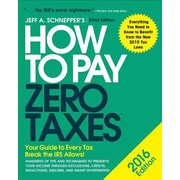 How to Pay Zero Taxes, Paperback (9780071836647)