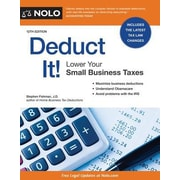 Deduct It Lower Your Small Business Taxes, Paperback (9781413322057)