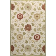 Bashian Rugs Essex Ivory Area Rug; Runner 2'6'' x 8'