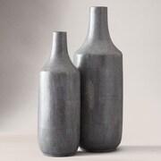 Tozai 2 Piece Shagreen Vase Set