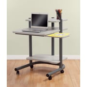 Studio Designs Pewter Laptop Cart; 24''