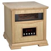 Dynamic Infrared Dynamic 1,500 Watt Portable Electric Infrared Cabinet Heater; Light Oak