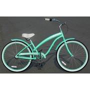 Fito Women's Modena EX Alloy Shimano Nexus 3-Speed Beach Cruiser Bike; Mint Green