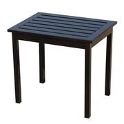 Wildon Home   Charter End Table; Black