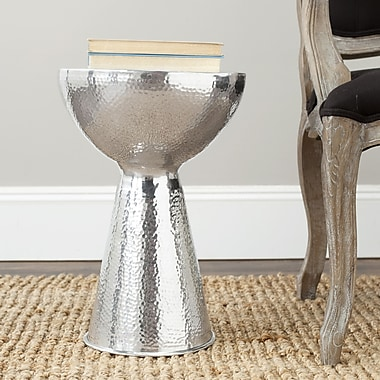Safavieh Troy Polished Stool