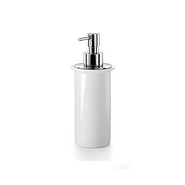 WS Bath Collections Picola Soap Dispenser; White