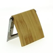 Evideco Wall Mounted Toilet Tissue Roll Dispenser; Pine