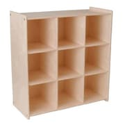 Little Colorado Storage 9 Compartment Cubby; Natural Lacquer