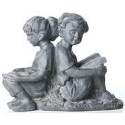 Alfresco Home Children Reading Statue