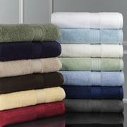 Luxor Linens Bliss Egyptian Cotton Luxury 12 Piece Towel Set; Robin's Egg Blue