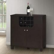 Wholesale Interiors Baxton Studio Bar w/ Wine Storage