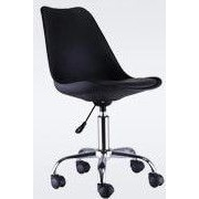Hodedah High Back Office Chair; Black