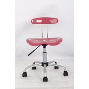 Hodedah Mid Back Task Chair; Pink
