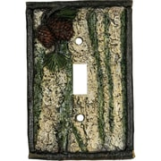 River's Edge Products Oak Switch Plate Cover