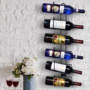 Sorbus 6 Bottle Wall Mounted Wine Rack