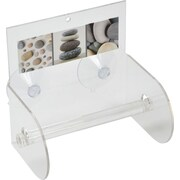 Evideco Belle Ile Suction Mounted Toilet Tissue Paper Roll Holder