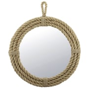 CKK Home D cor, LP Heartland Hanging Rope Wrapped Mirror