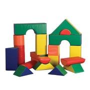 ECR4Kids SoftZone 21 Piece Jumbo Soft Block Set
