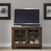 Liberty Furniture TV Stand; Bronze
