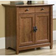 Sauder Edge Water 2 Door Cabinet; Auburn Cherry