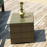 Forever Patio Hampton Side Table; Heather
