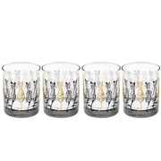 Culver Cats Double 14 Oz. Old Fashioned Glass (Set of 4)