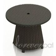 Forever Patio Hampton Coffee Table; Chocolate