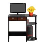 Wildon Home   Home Computer Desk; Espresso / Black / Brown