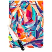 KESS InHouse Versicolor by Danny Ivan Cutting Board; 0.5'' H x 15.75'' W x 11.5'' D
