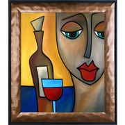 Tori Home 'By Myself' by Tom Fedro Framed Print Painting