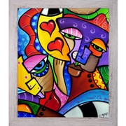 Tori Home 'As Luck Would Have It' by Tom Fedro Framed Print Painting