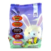 HERSHEY'S Easter Spring Favorites Snack Size Assortment, 95 Count, 32.76 oz
