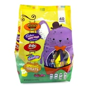 HERSHEY'S Easter Spring Treats Assortment, 40 Count, 20 oz