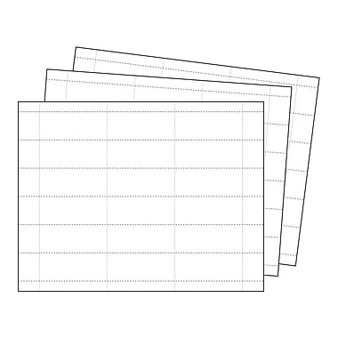 Kostklip® Perforated Sign and Label Paper, 1.25