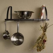 Advantage Components Expandable Wall Mount Pot Rack / Shelf