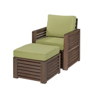 Home Styles Barnside Arm Chair and Ottoman