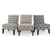 DHI Monaco Spades Slipper Chair; Mocha