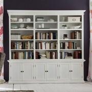 NovaSolo Halifax 87'' Oversized Set Bookcase