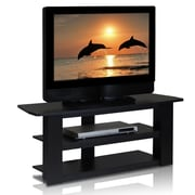 Home Loft Concepts Parsons TV Stand; Black