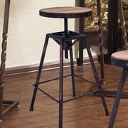 AdecoTrading Adjustable Height Bar Stool
